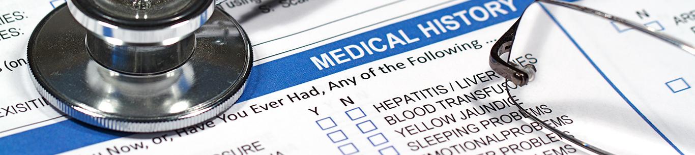 Medical Forms Header Image